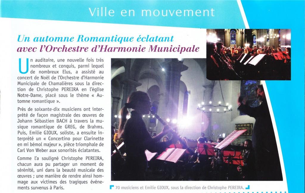 Chamalières magazine décembre 2015