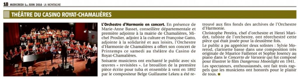 concert au casino printemps 2016